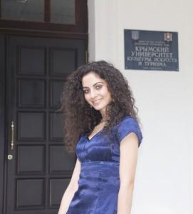 Руководитель хореографического кружка «Сувенир» Эсма Шакирова